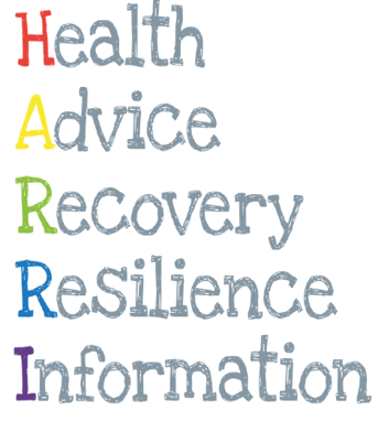 Health, Advice, Recovery, Resilience, Information